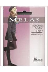 Melas Melas Women's Microfiber Opaque Shaper 60 Denier Tights AT-713