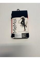 Memoi Memoi Women's FirmFit Control Top 90 Denier Footless Tights MO-893