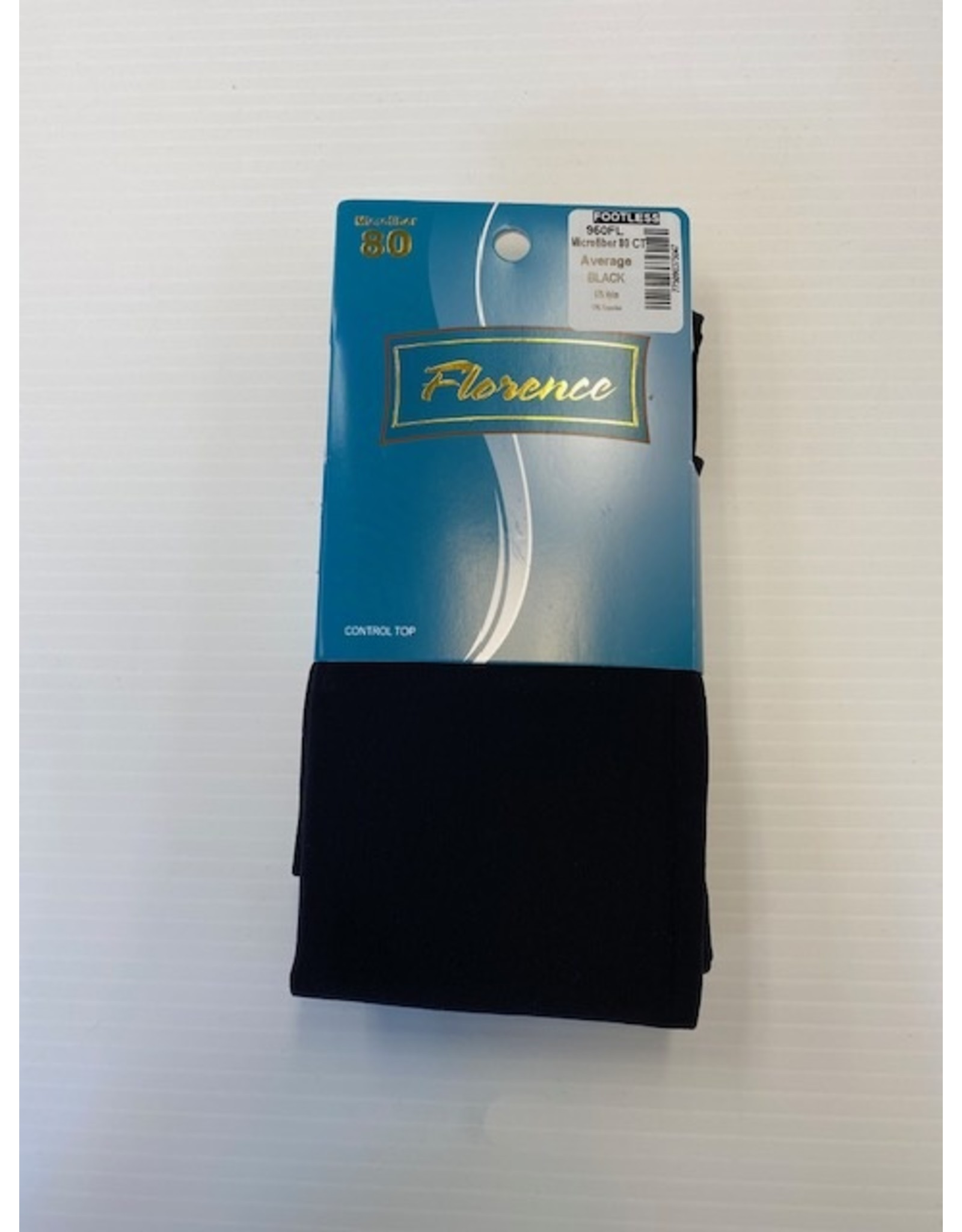 Florence Florence Women's 80 Denier Control Top Footless Tights