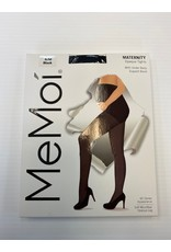 Memoi Memoi Women's Maternity Opaque Tights with Under Belly Support Band MA-404