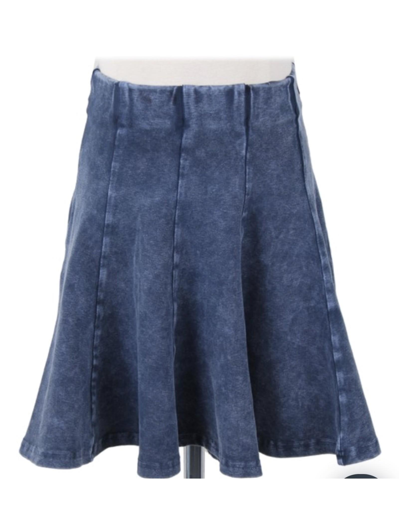 Kiki Riki Kiki Riki Girls Stone Wash Panel Skirts 41458