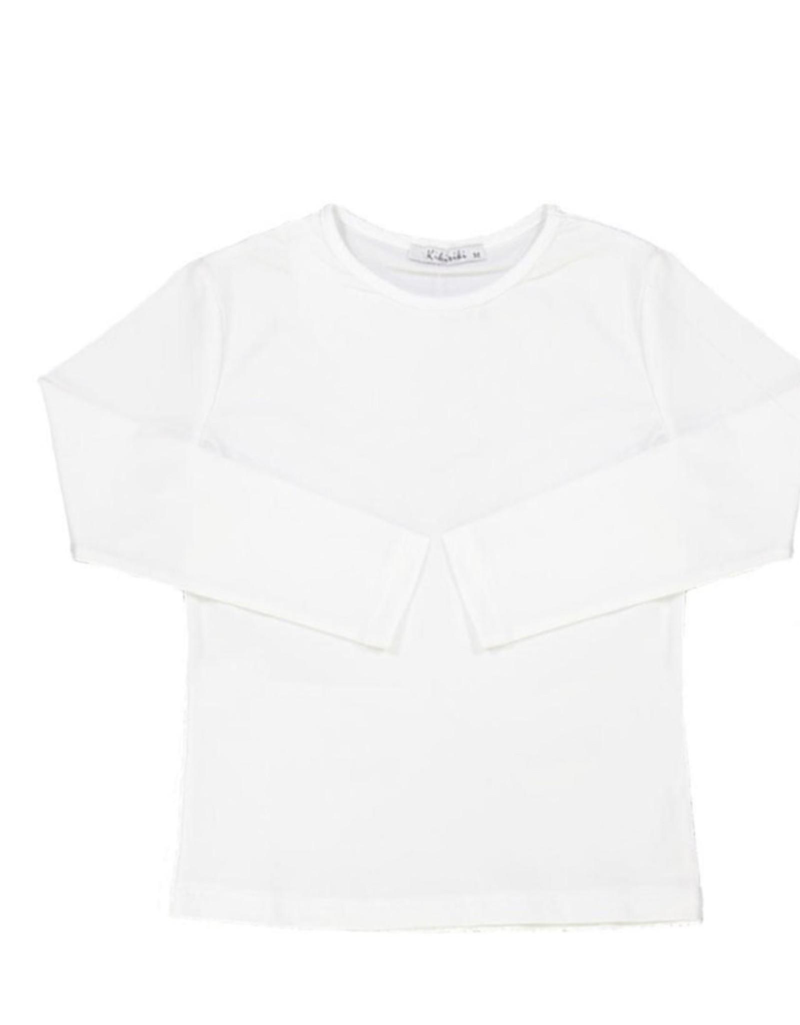 Kiki Riki Kiki Riki Girls 3/4 Length Sleeve Cotton Shell 19433