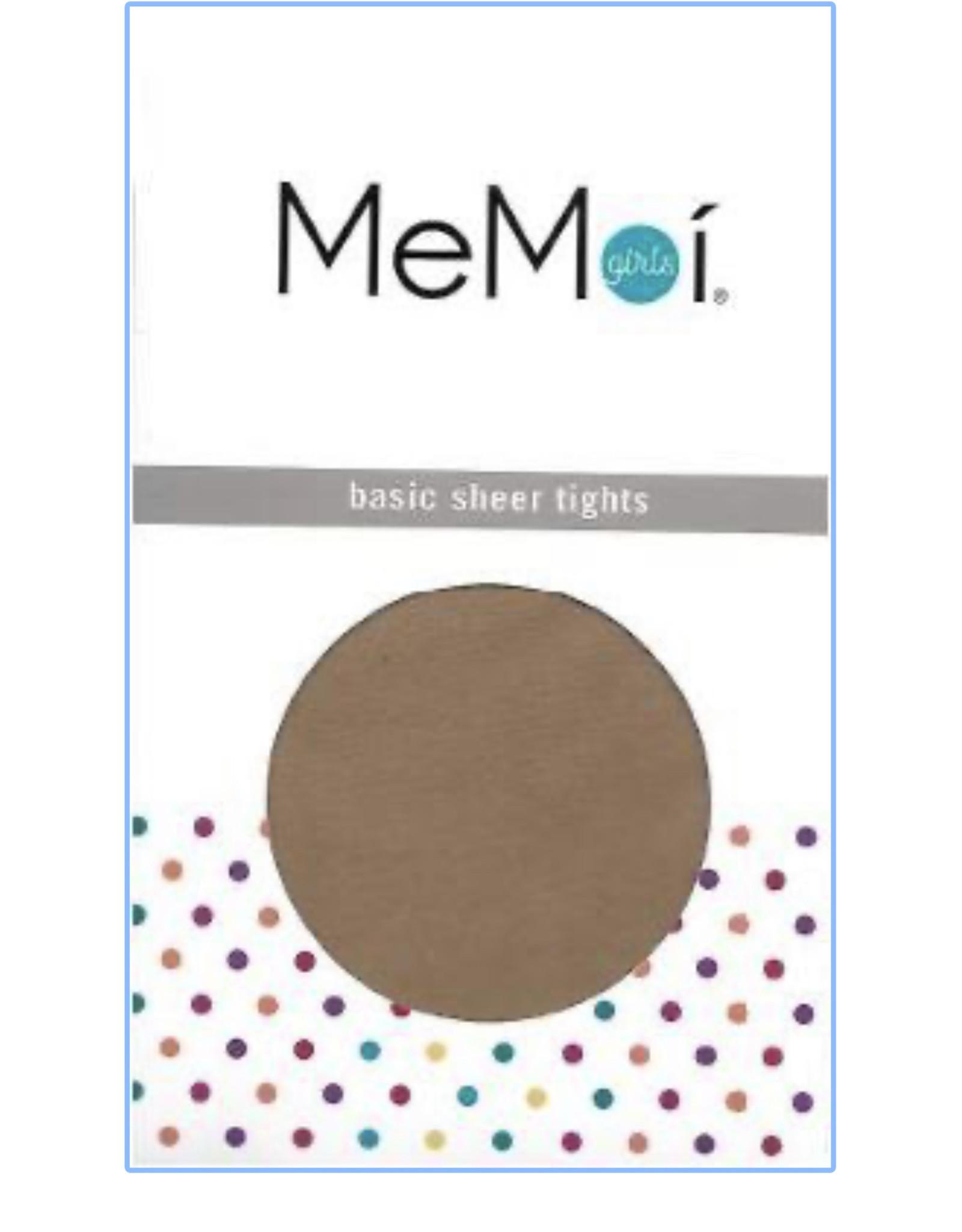 Memoi Memoi Girls Basic Sheer 30 Denier Tights MK-303