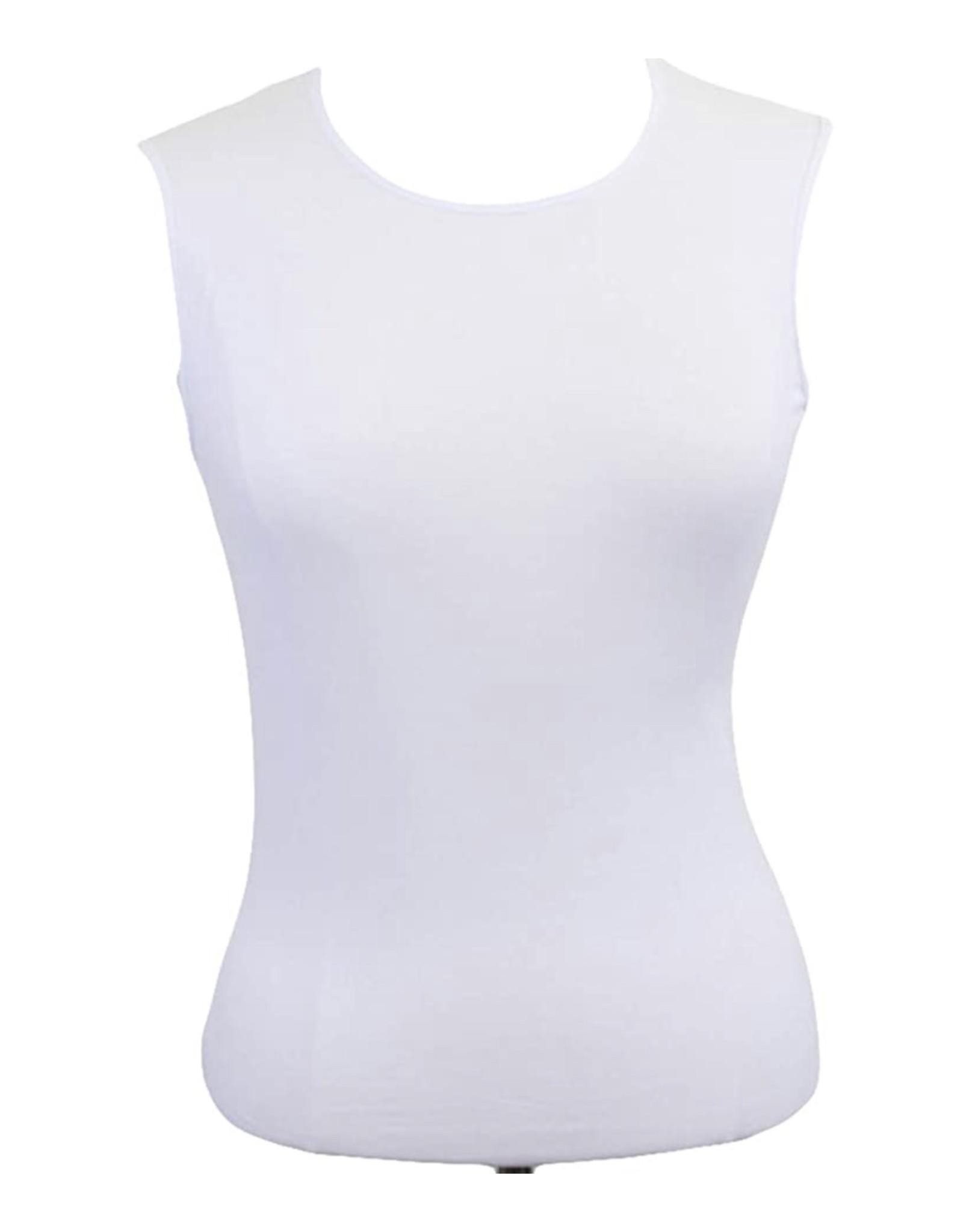 Kiki Riki Kiki RiKi Women's Sleeveless Scoop Neck Cotton Shell 20843