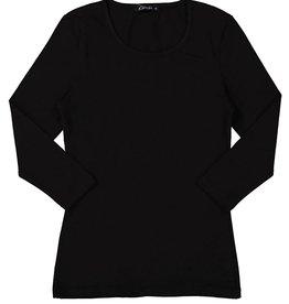 Kiki Riki Kiki Riki Women's 3/4 Length Sleeve Scoop Neck Cotton Shell 18909