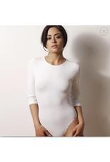 Adea Women Adea 3/4 Length Sleeve Bodysuit Shell