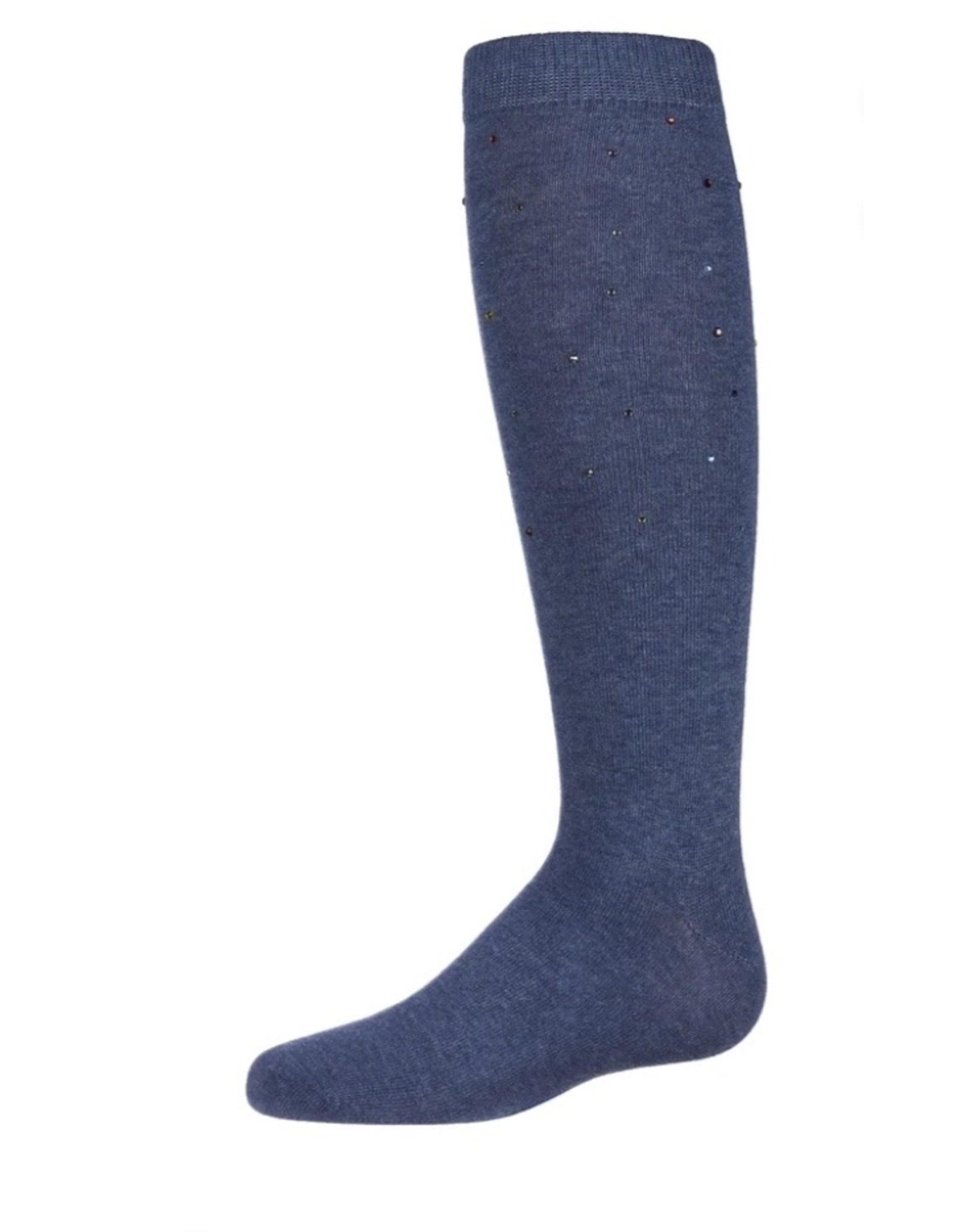 Memoi Memoi Multi Stone Knee Sock