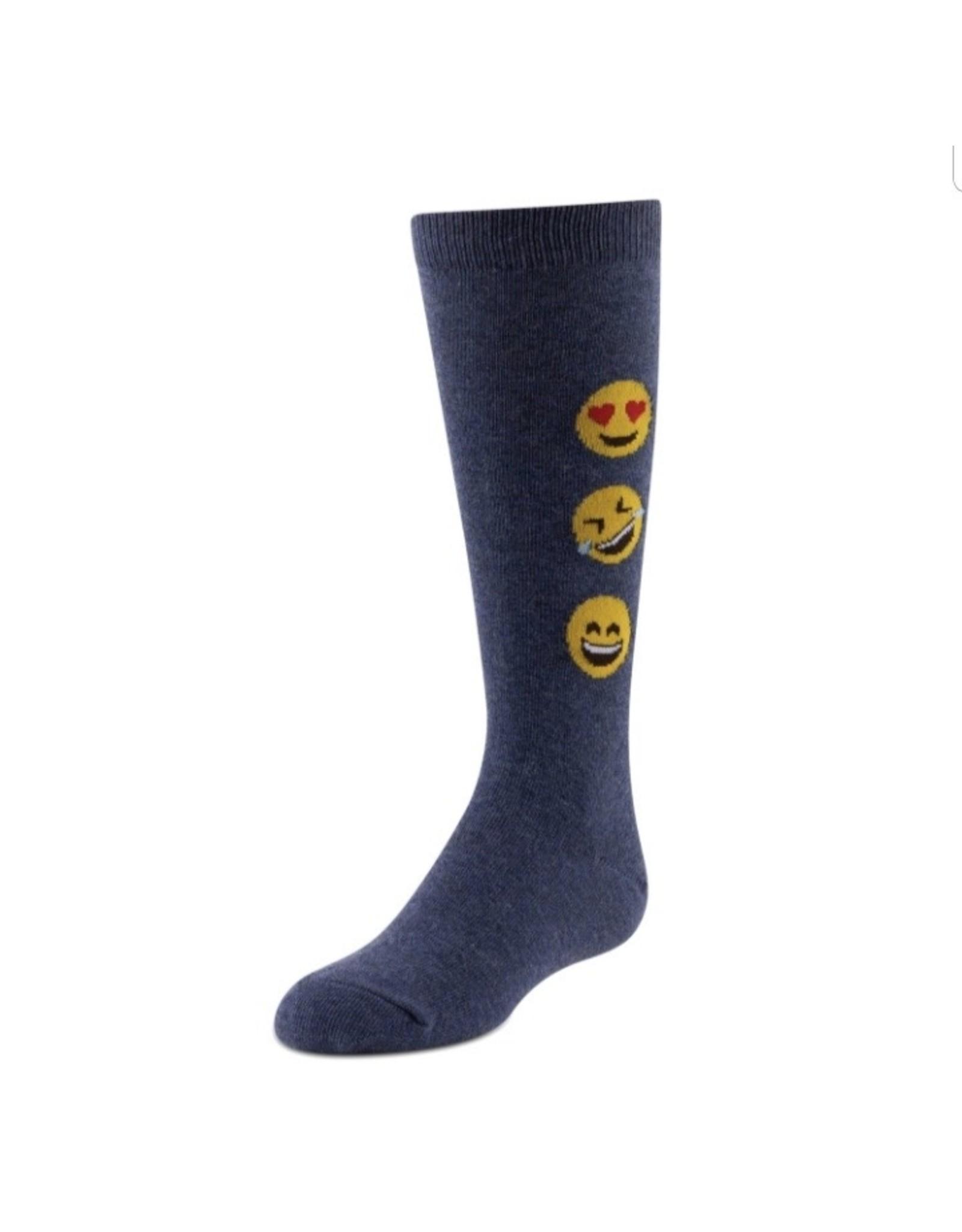 JRP JRP Girls Emoji Knee Sock