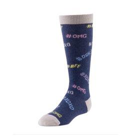 JRP JRP Girls BimBam Hashtag Knee Sock