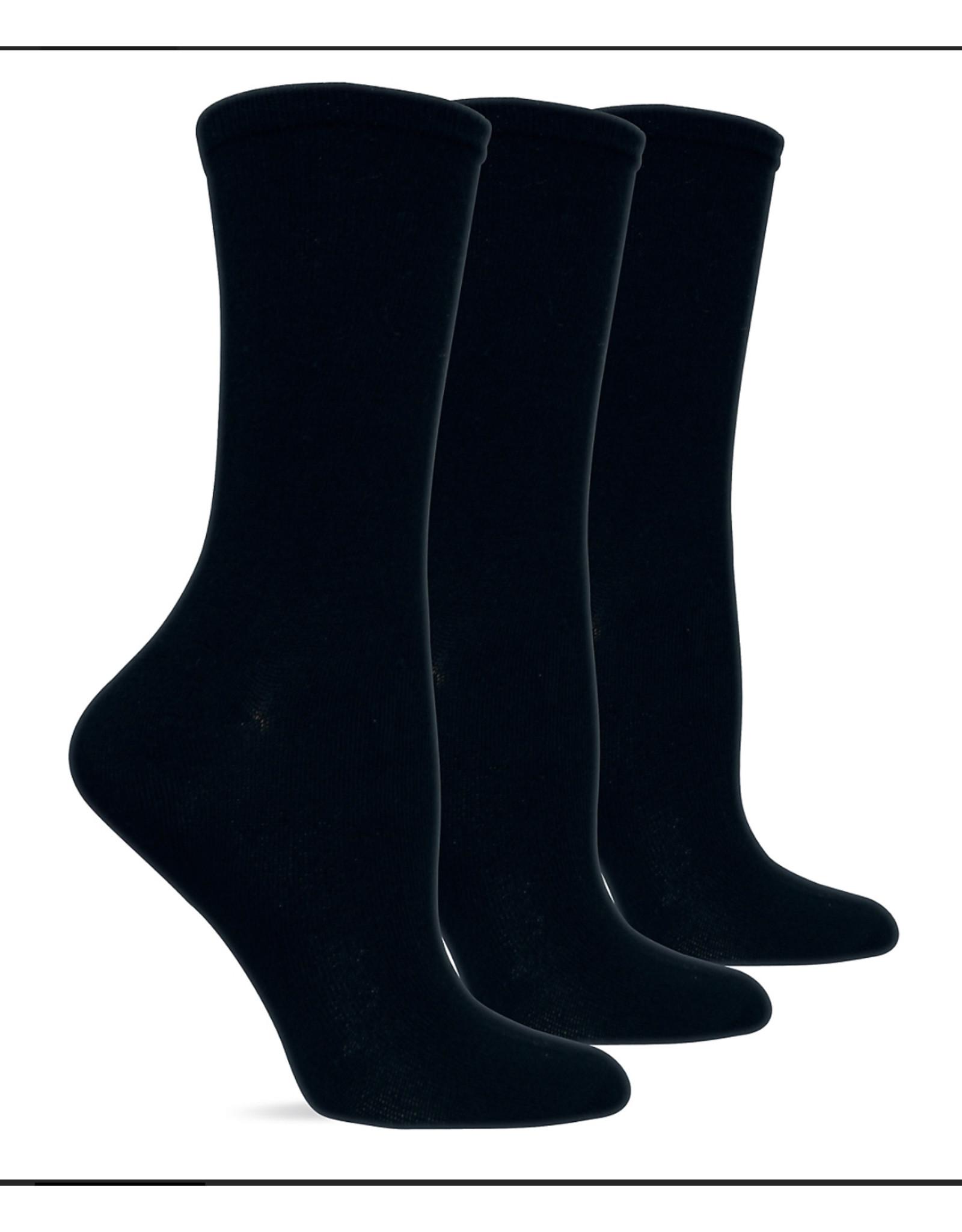 Hotsox Hot Sox Solid Crew Socks 3-Pack HO000088PK