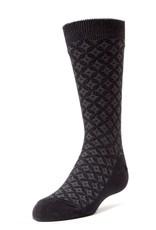 Memoi Memoi Boys Pixel Texture Dress Socks Mk-139