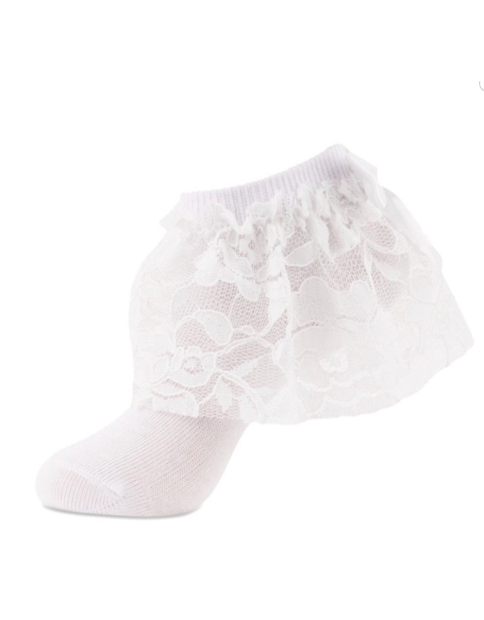 JRP JRP Girls Floral Lace Anklet