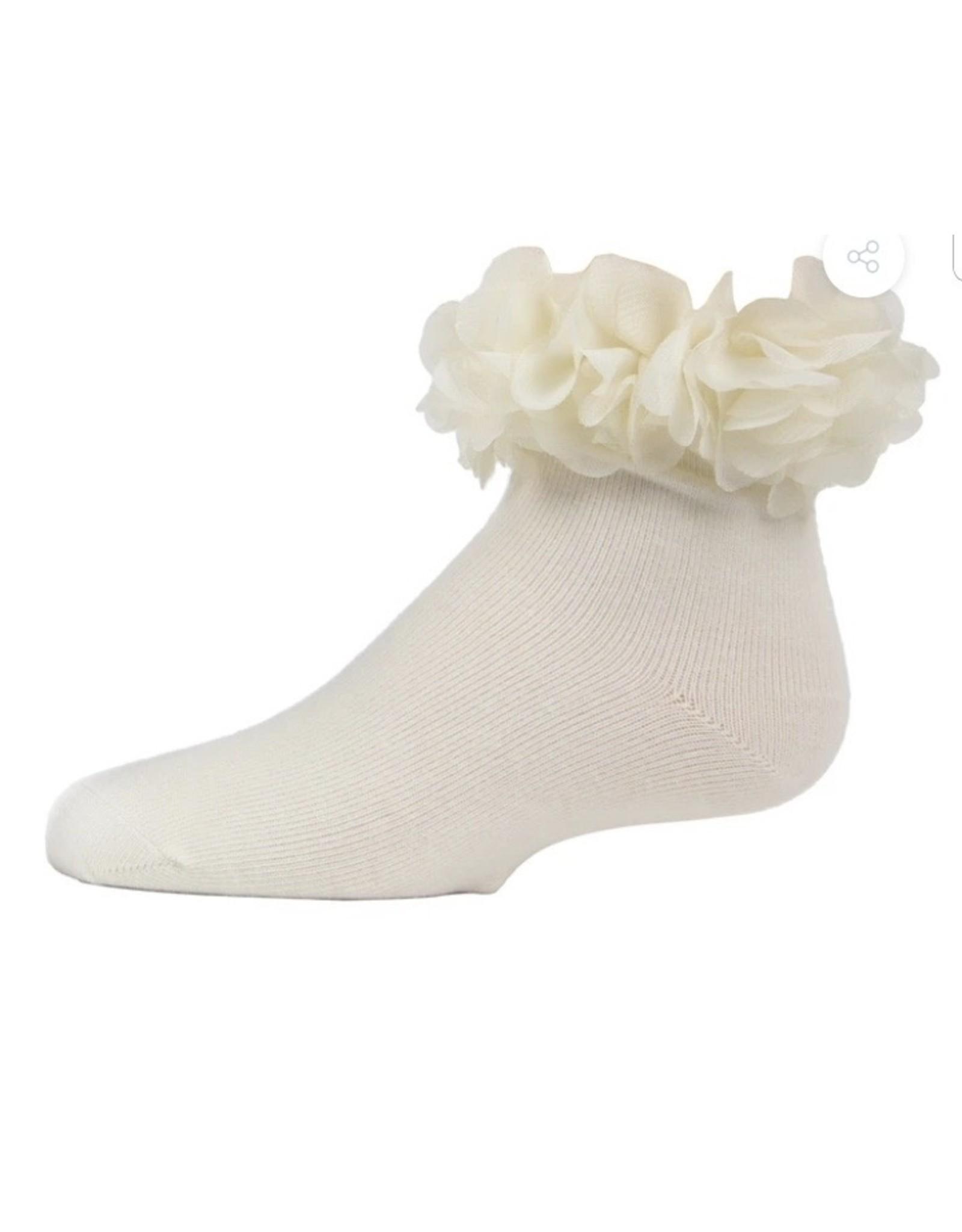 Memoi Memoi Girls Floral Halo Anklet MKF 6029