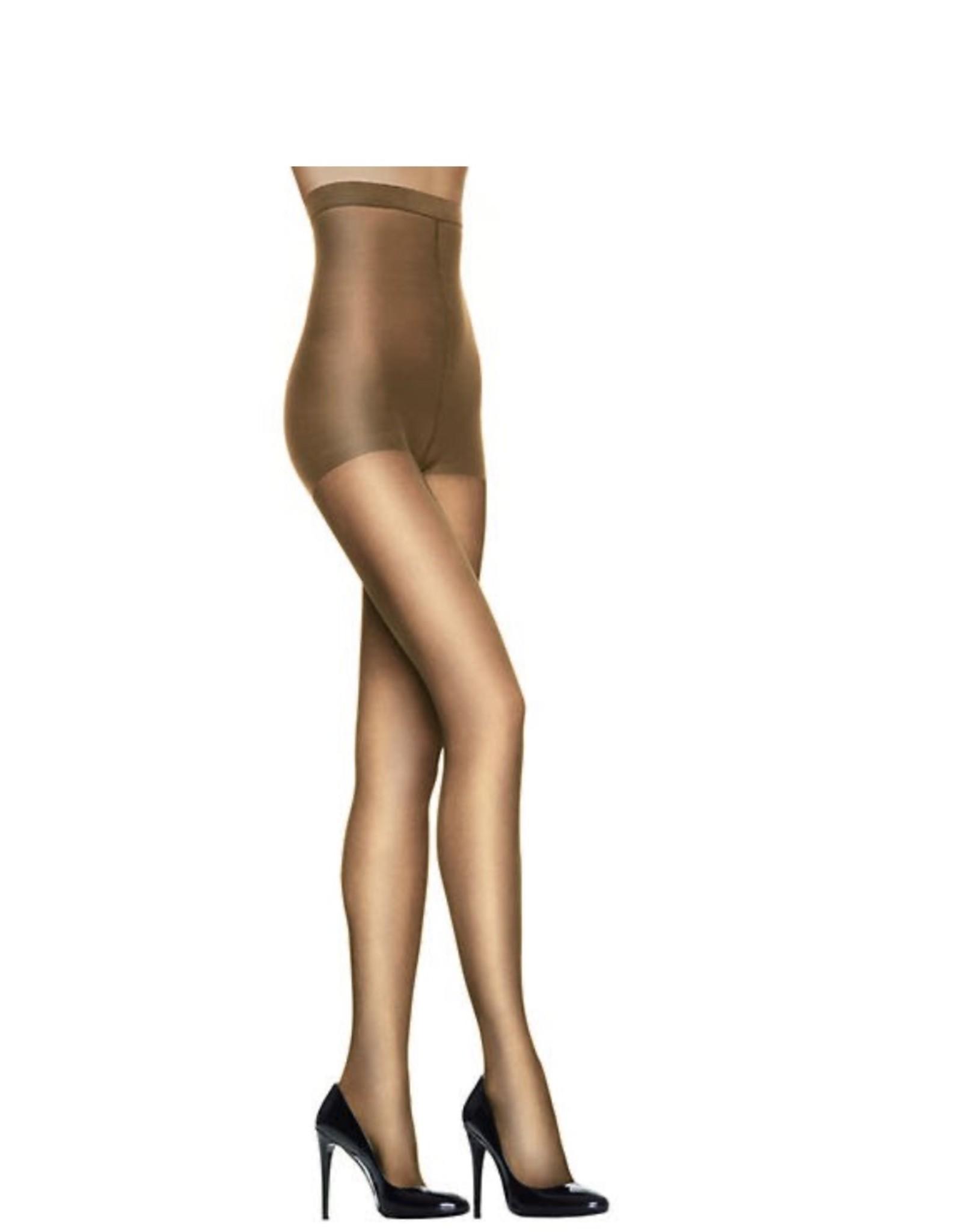 Hanes Hanes Women's High Waist Control Top Sheer Toe Pantyhose OB184