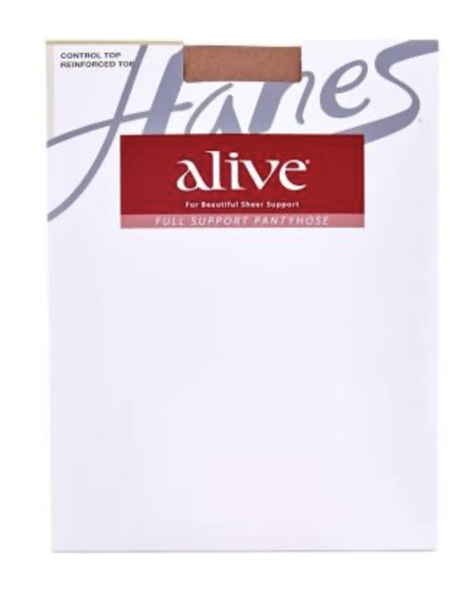 Hanes Hanes Women's Alive Full Support Pantyhose 810