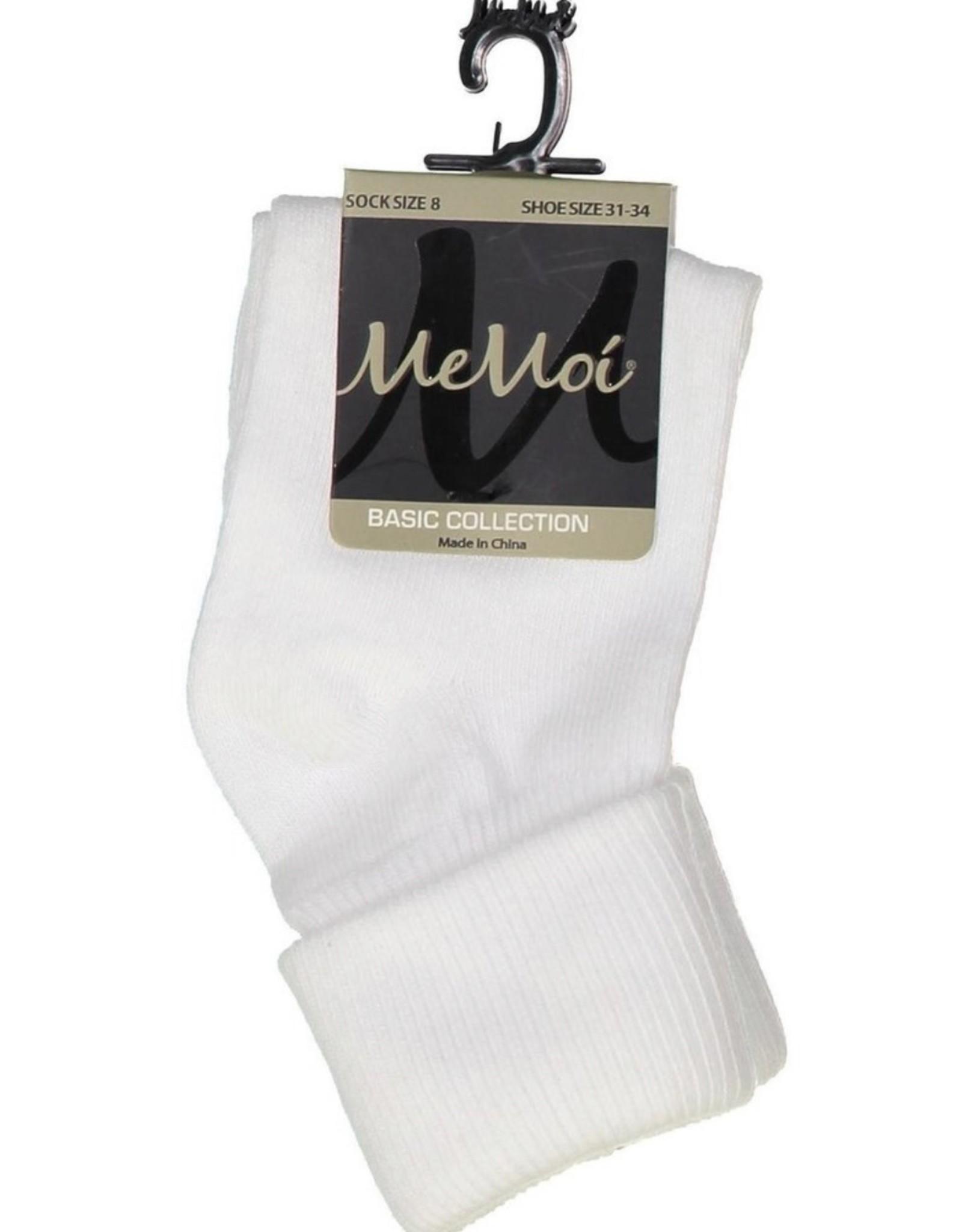 Memoi Memoi Infants Triple Roll Socks Mk-5058