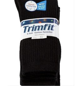 Trimfit Trimfit Big Boys Cotton Ribbed Crew Sock 01733