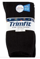Trimfit Trimfit Big Boys Cotton Wide Ribbed Crew Sock 10786