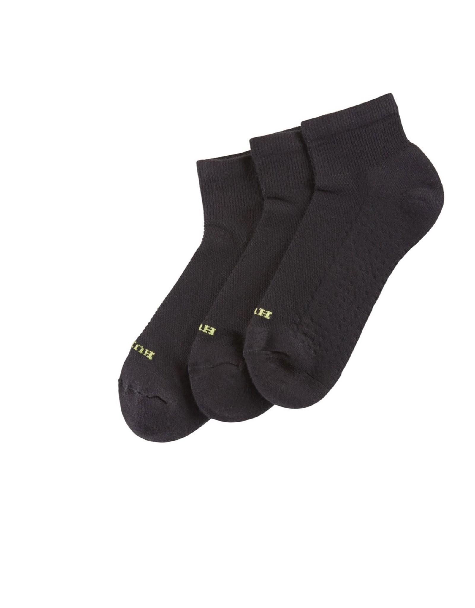 Hue Hue Air Cushion Ankle Socks 3-Pack U12800