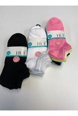 Hue Hue Women's Super Soft Liners Socks 6-Pack U20032