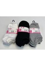 Hue Hue Women's Cotton Liners Socks 6-Pack U6421