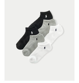 Polo Ralph Lauren  Polo Ralph Lauren Ultra Low Flat Knit Socks - 3 Pack 7370PK