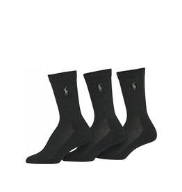 Polo Ralph Lauren  Polo Ralph Lauren Cushioned Sole Mesh Crew Socks - 3 Pack 7310PK