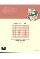 Jack & Jill Jack & Jill Girls Shorts Sleeve Undershirt 3-Pack 115