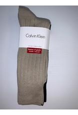Calvin Klein Calvin Klein Men's Ribbed Dress Socks 4-Pack ACP197