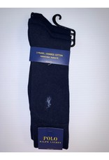 Polo Ralph Lauren  Polo Ralph Lauren Men's Combed Cotton Dress Socks 3-Pack 8070PK