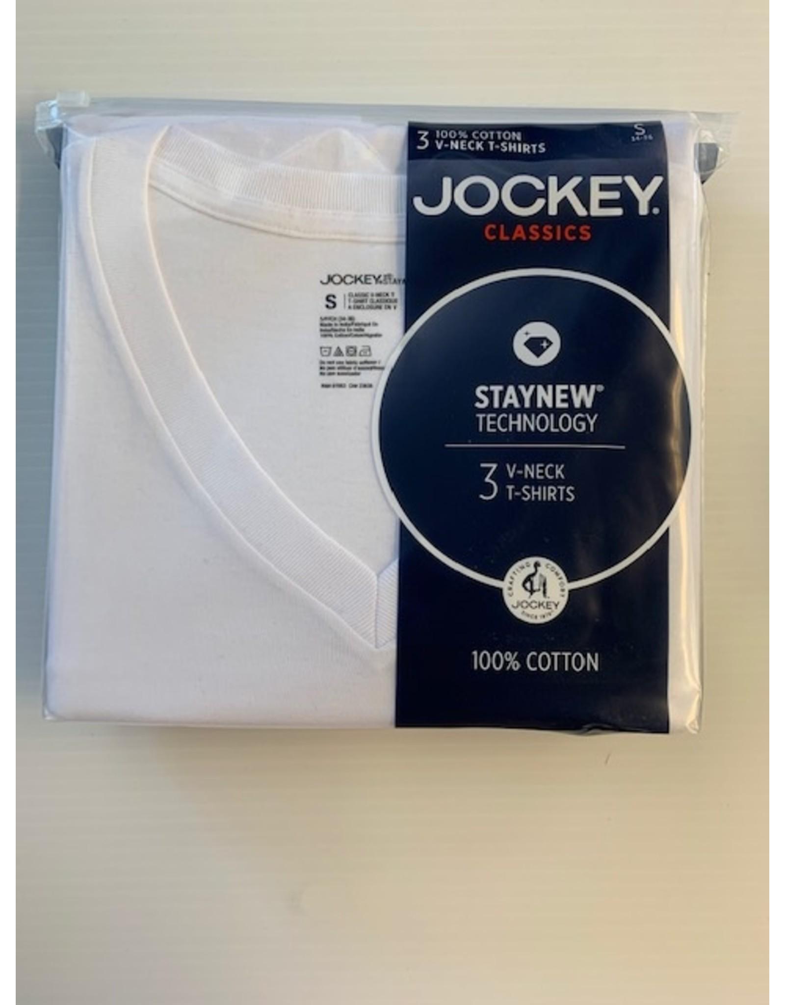 Jockey Men's Jockey V-Neck T-Shirts