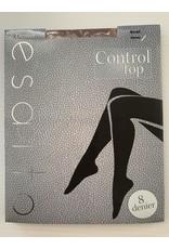 Esatto Esatto Women's 8 Denier Control Top Sheer Pantyhose