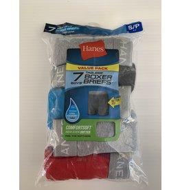 Hanes Hanes Boy's Tagless Cotton Boxer Briefs