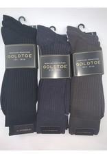 Goldtoe GoldtoeGoldtoe Men's Canterbury Reinforced Toe Socks - 3 Pack 794S