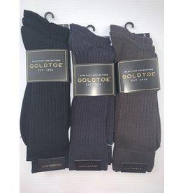 Goldtoe Goldtoe Men's Canterbury Reinforced Toe Socks - 3 Pack 794S