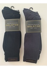 Goldtoe Goldtoe Men's Cotton Metropolitan Reinforced Toe Socks - 3 Pack 345S