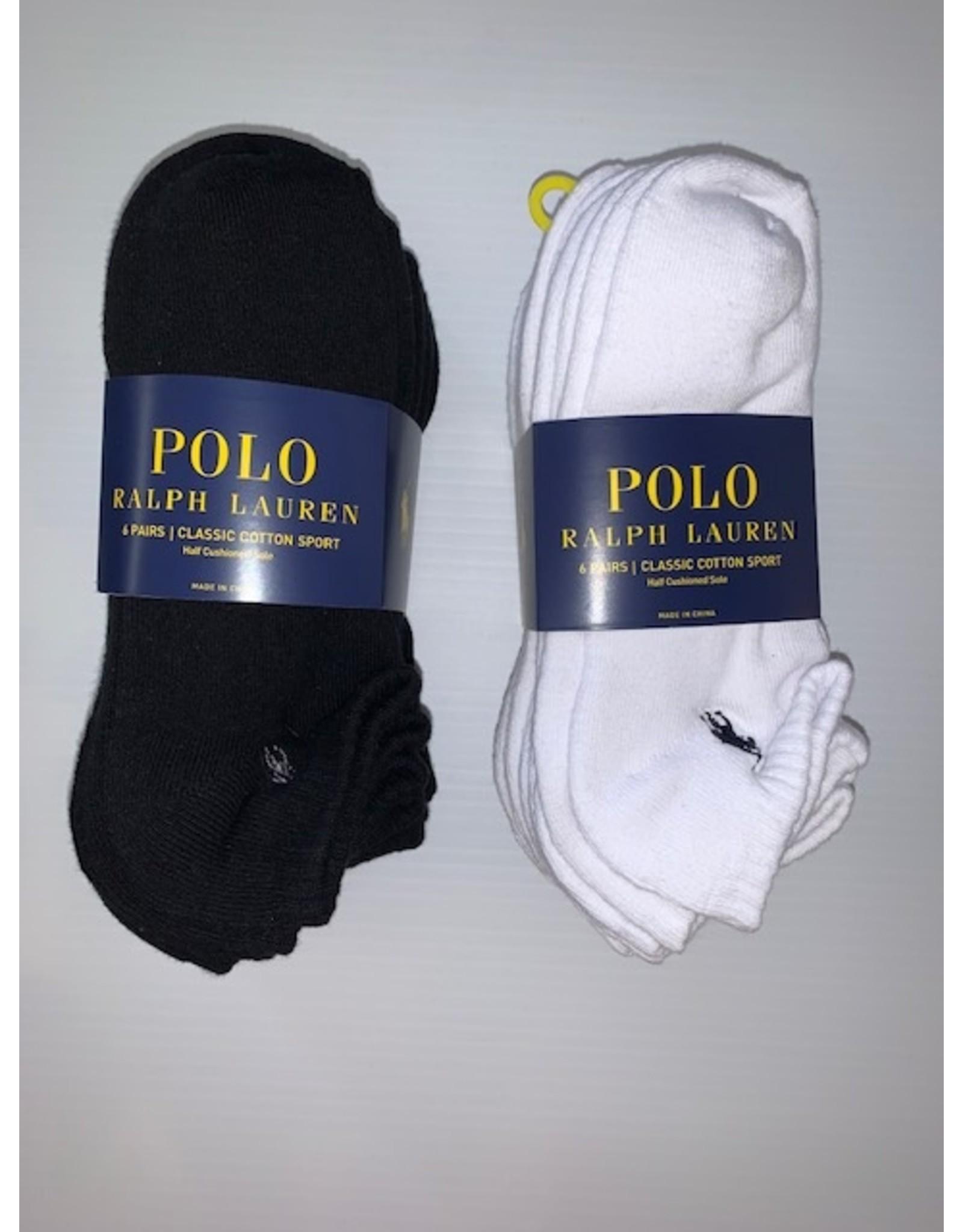 Polo Ralph Lauren  Polo Ralph Lauren Men's Low Cut Cotton Sport Socks 6-Pack