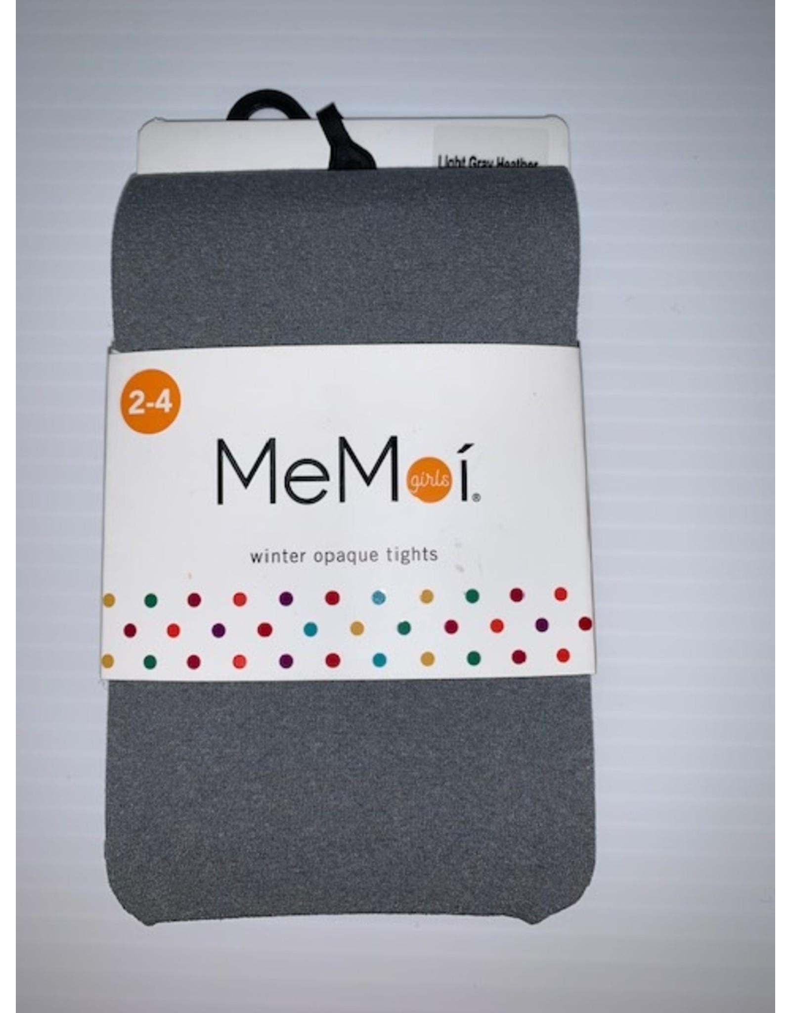 Memoi Memoi Girls Heather Microfiber Tights MK-054
