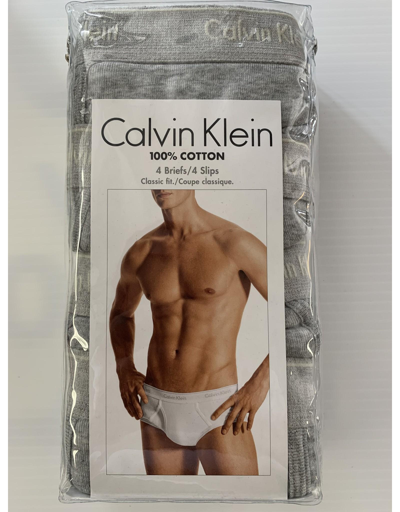 Calvin Klein Calvin Klein Men's Classic Cotton Briefs 4-Pack