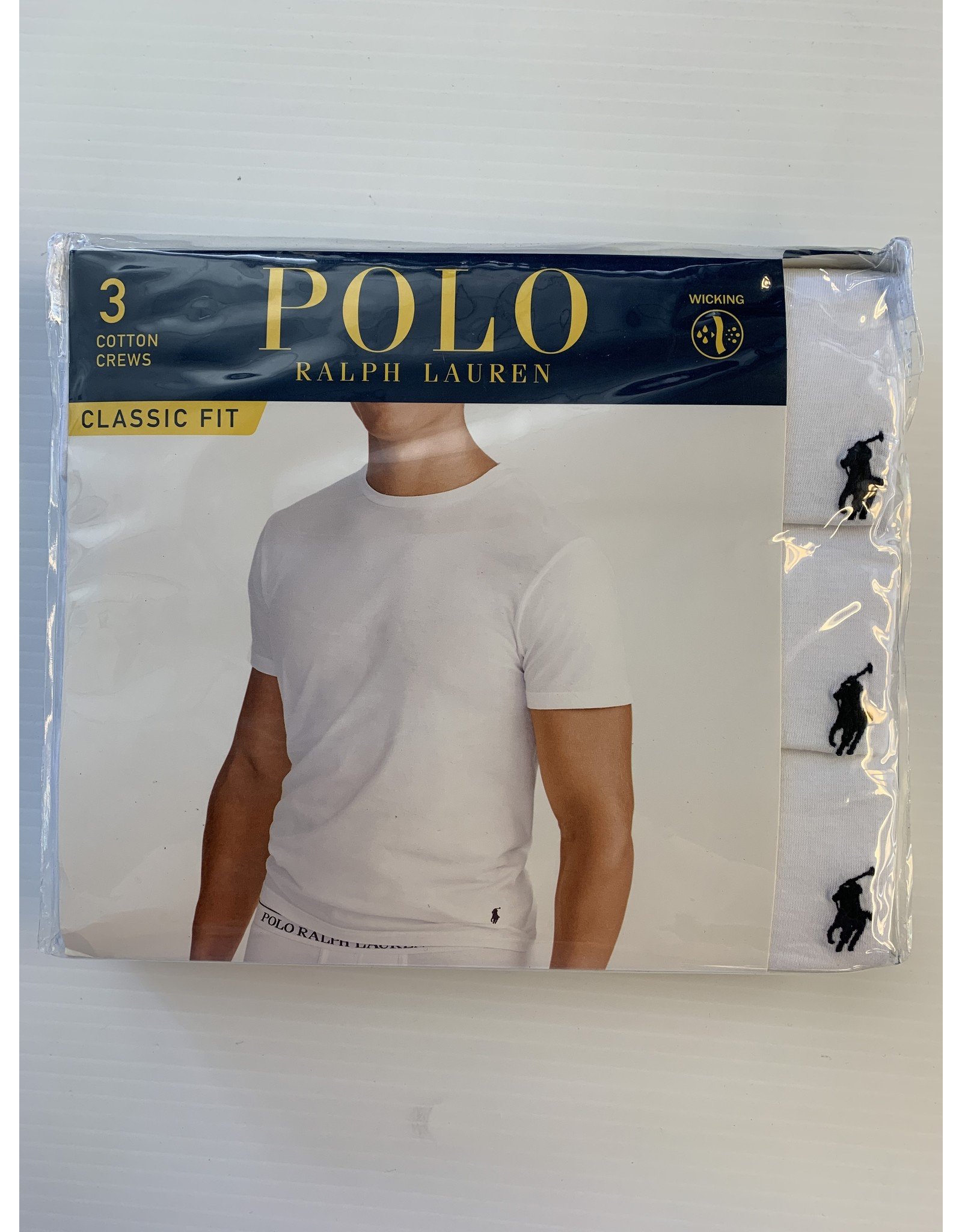Polo Ralph Lauren Polo Ralph Lauren Men's Classic Crew Neck T-Shirts 3-Pack