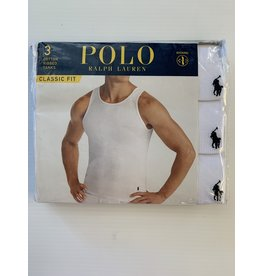 Polo Ralph Lauren Polo Ralph Lauren Men's Classic Cotton Ribbed Tanks 3-Pack