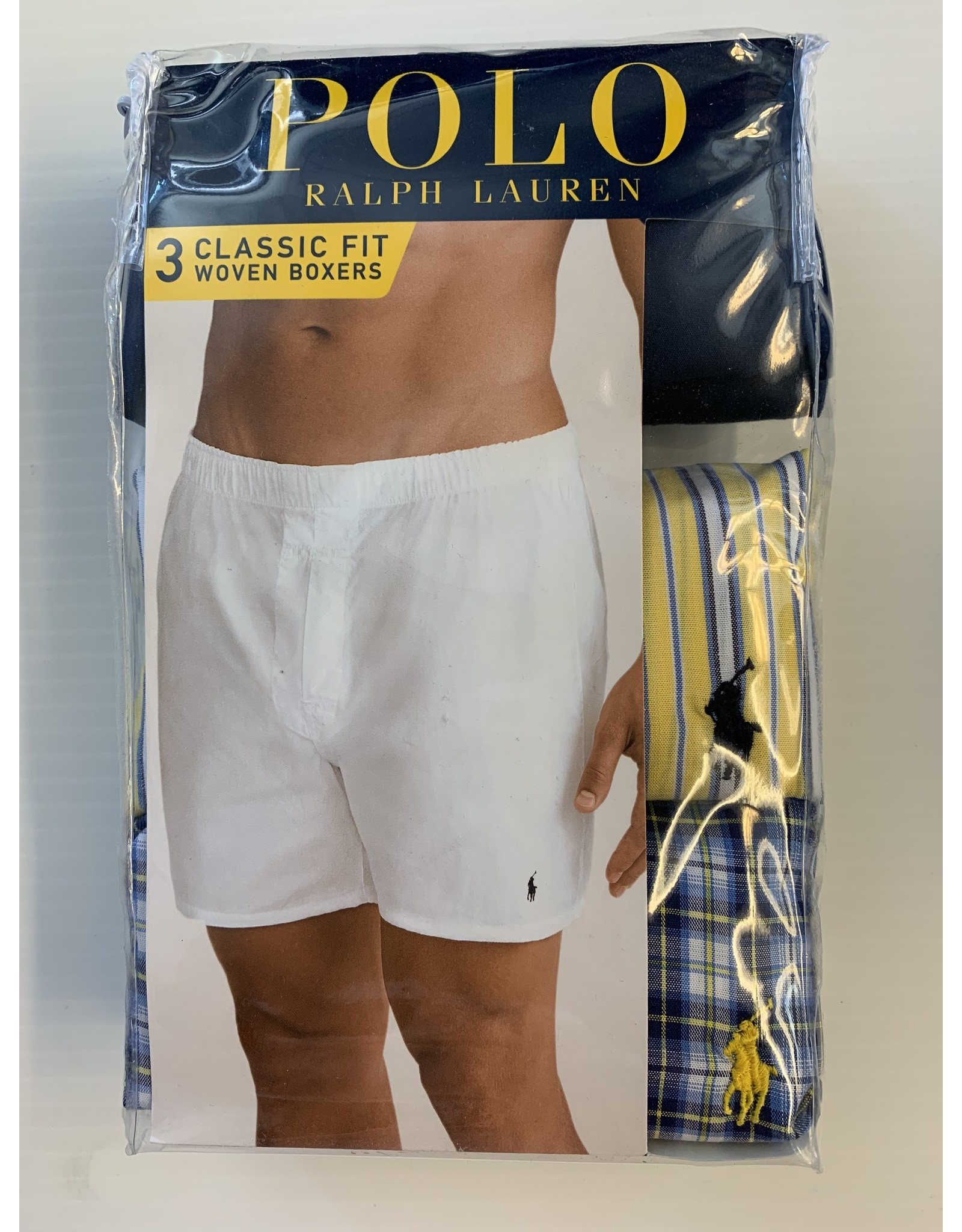 Polo Ralph Lauren Polo Ralph Lauren Men's Classic Fit Woven Boxers 3-Pack