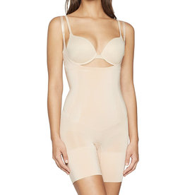 Spanx Spanx Women's Oncore Open- Bust Mid Thigh Bodysuit 10130R