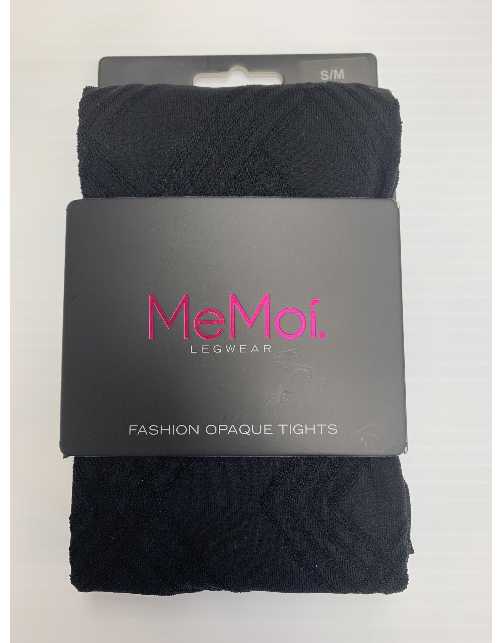 Memoi Memoi Women's Geometric Pattern Fashion Tights MO-331