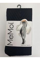 Memoi Memoi Women's Chevron Fashion Tights MO-316