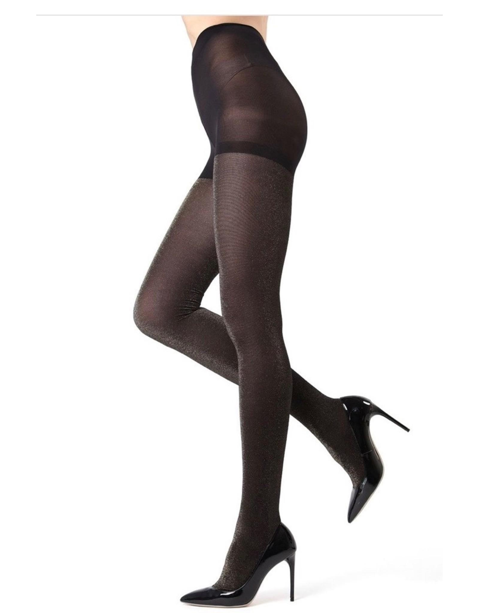Memoi Memoi Women's Glitter Opaque Fashion Tight MO-357
