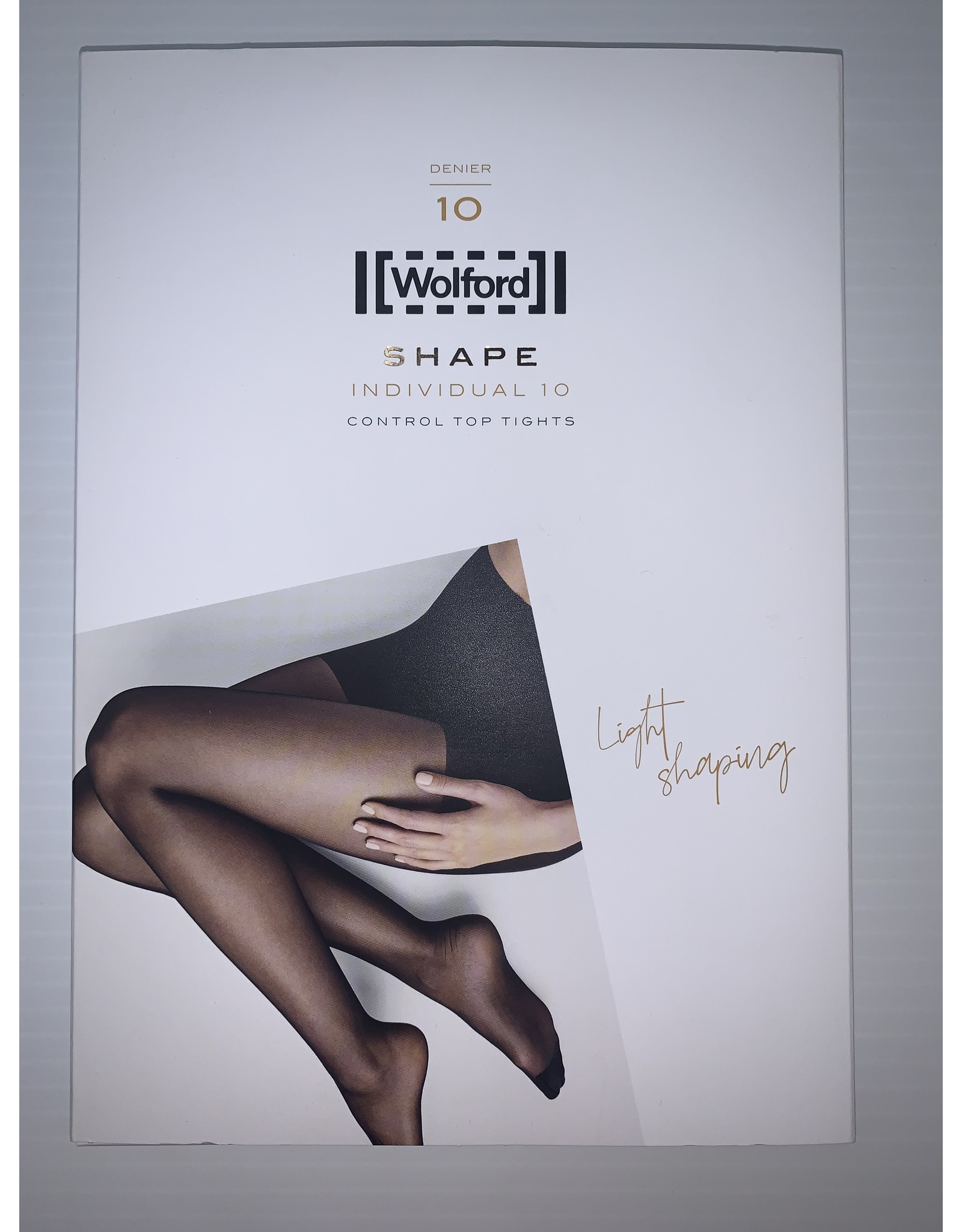 Wolford Wolford Individual 10 Denier Control Top Tights 18163