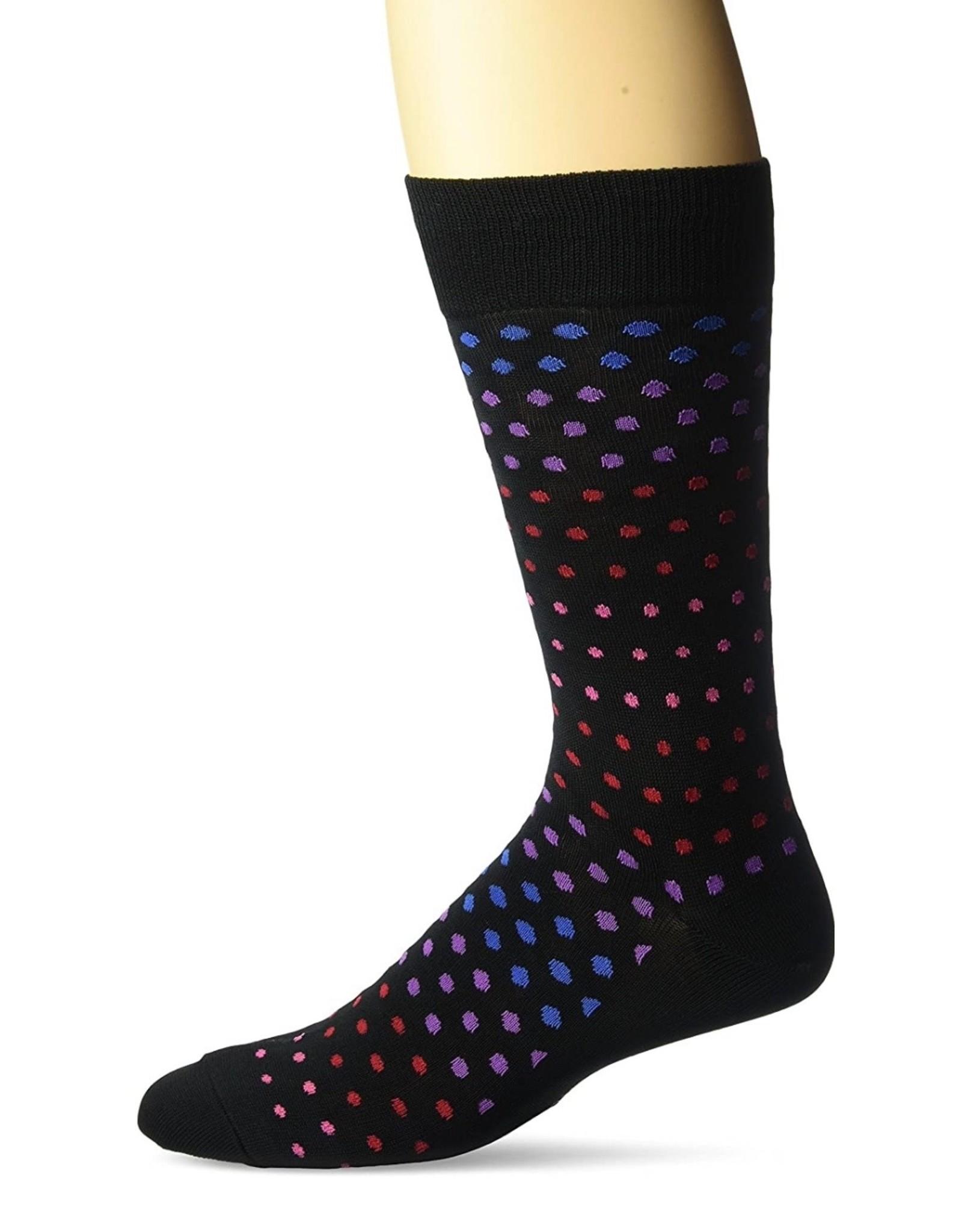 Hotsox Hotsox Men's Variegated Dot Crew Socks HM100085