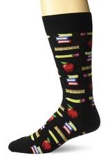 Hotsox Hotsox Men's Teacher's Pet Crew Socks HM100681