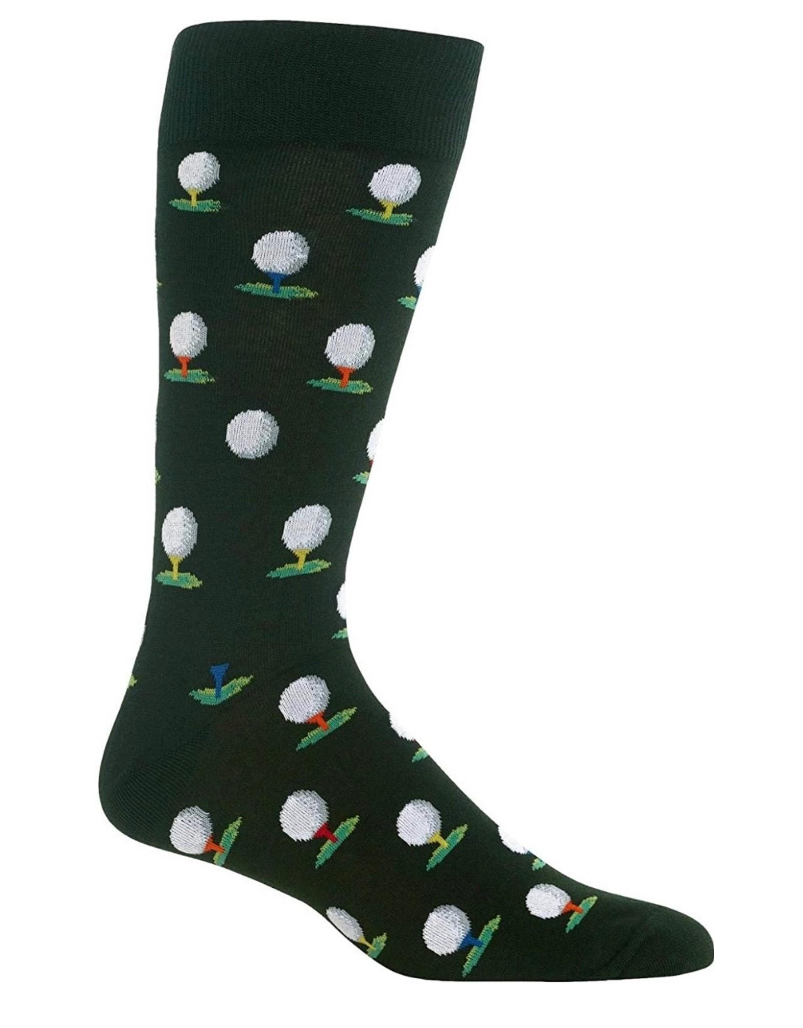 Hotsox Hotsox Men's Golf Crew Sock HSM10014